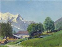 paysage savoyard by charles ceboul