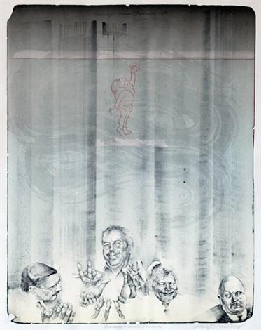 hommage honoré daumier by oldrich kulhánek