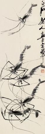 虾 by qi baishi