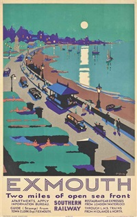 exmouth by george ayling