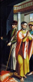 scène tirée de la vie de saint-paul by vicente juan (de juanes) masip