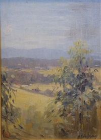 country valley by alexander colquhoun