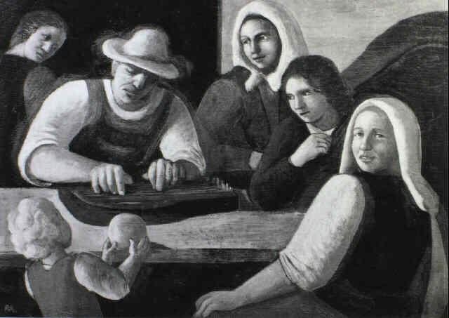 zitherspieler by robert aigner
