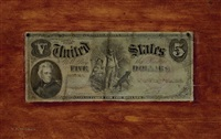 five dollar bill by nicholas alden brooks
