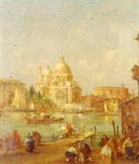 grand canal, venice by e. zeno