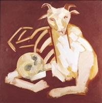cabra y cráneo by robert llimós