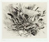 untitled (grey area) by julie mehretu