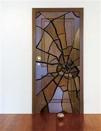 shattering door by leandro erlich