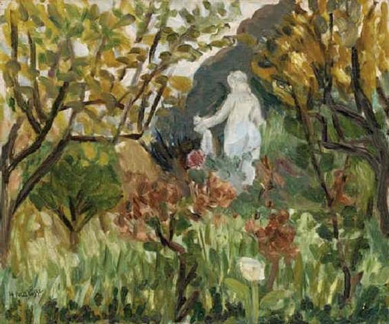 Le jardin de renoir by henri matisse on artnet for Le jardin henri vinay