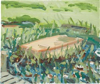 coleman pond by alex katz