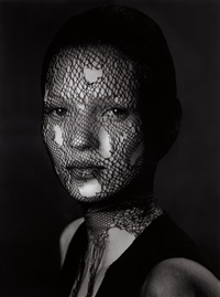 kate moss in torn veil, marrakech by albert watson