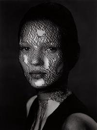 kate moss in torn veil, marrakech by albert watson