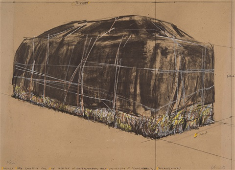 packed hay project for the institute of contemporary art philadelphia by christo and jeanne claude