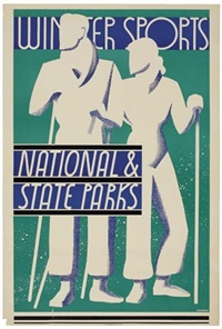 winter sports/national & state parks by dorothy waugh