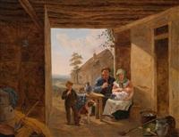 glückliche familie by constantinus-fidelio coene