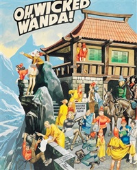 oh, wicked wanda! (for another stop at another tibetan rest stop) by ronald embleton