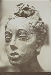 estudio de la baronne (renée frachon), c.1908 by constantin brancusi