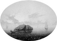 ships off halfway rock by mary blood mellen