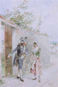 a chivalrous cavalier by carlos alonso perez