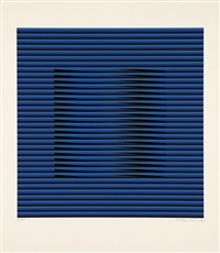 bleu by carlos cruz-diez