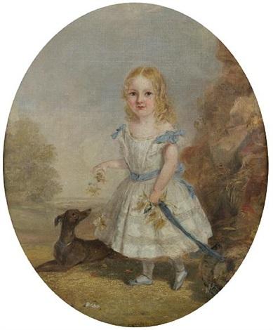 portrait of edith schroder by w allsworth