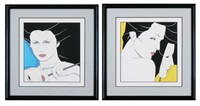 diptych by patrick nagel