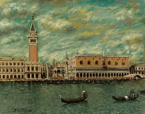 venezia palazzo ducale by giorgio de chirico