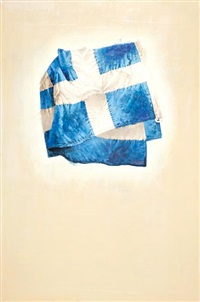 greek flag by vassilis solidakis