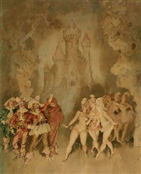 untitled by norman alfred williams lindsay