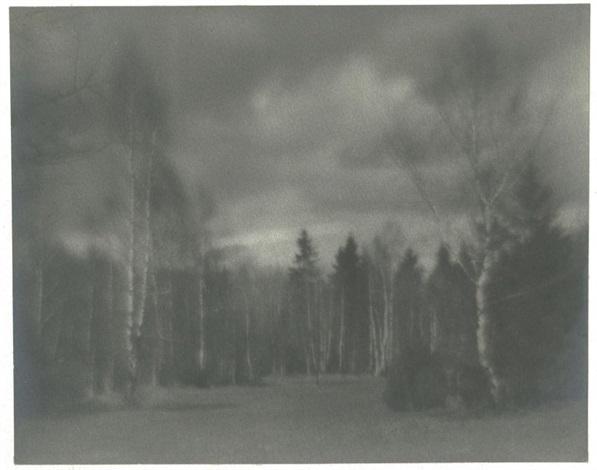 russian landscape by nikolai platonovitch andreiev