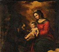 madonna mit kind und dem heiligen franziskus by anonymous-italian (17)