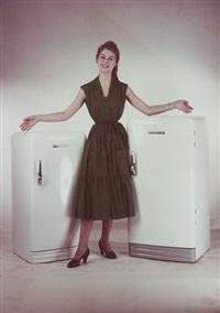 brigitte bardot. publicité pour les réfrigérateurs frigeavia by paul facchetti