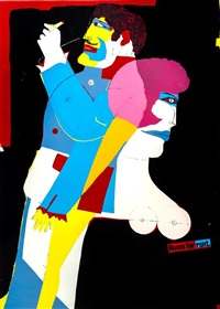 room for rent by richard lindner