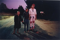 outskirts of morton, mississippi, halloween by william eggleston