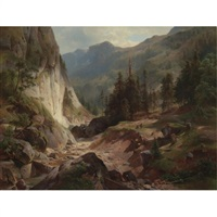 view in the adirondacks by herman fuechsel