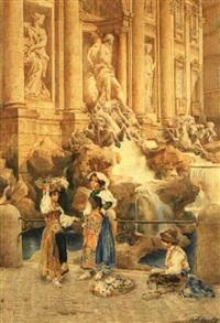 la fontana di trevi by e(ttore) ascenzi