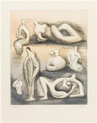 seven sculpture ideas i by henry moore