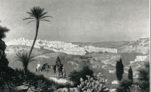 jerusalem by august fölsch