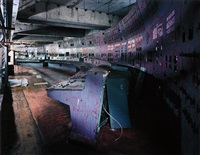 control room, reactor 4, chernobyl by robert polidori