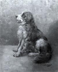 saint bernard by c. l. van vredenburgh