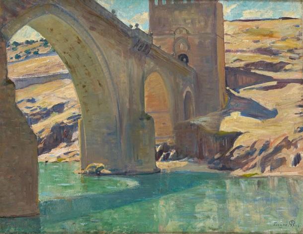 pont saint martin tolède by pierre paulus