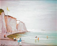 les falaises de dieppe by marcel dyf