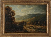 mountain landscape by thomas b. griffin