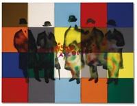 futurismo rivisitato a colori by mario schifano