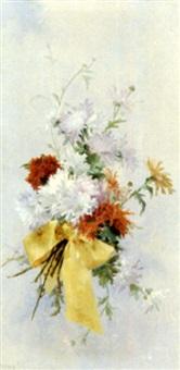 bouquet de roses (+ bouquet de margeurites; pair) by emma fanty-lescure