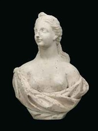 bust of diana by jan pierer van baurscheit