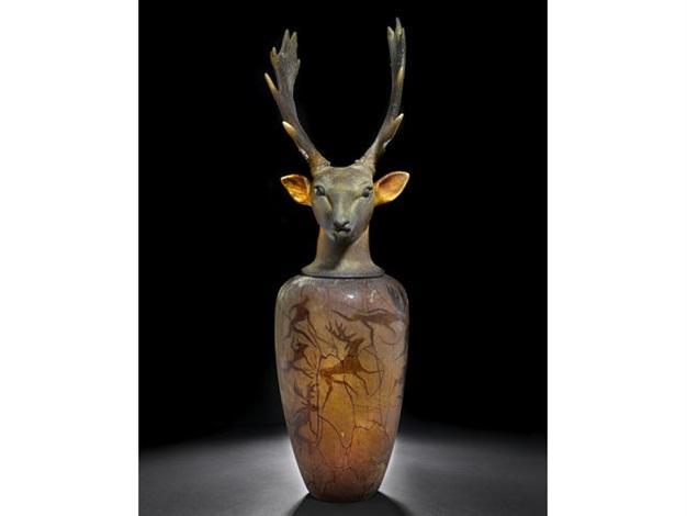 Canopic Jar Fallow Deer By William Morris On Artnet