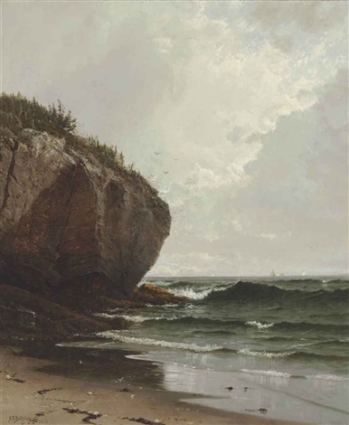 at mount desert island maine by alfred thompson bricher
