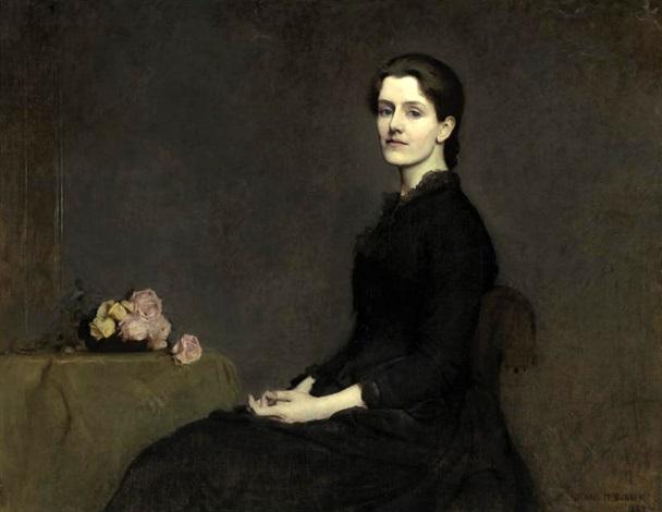 portrait of anne page by dennis miller bunker