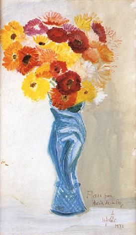 Jarrón con flores by Hipólito Hidalgo de Caviedes on artnet